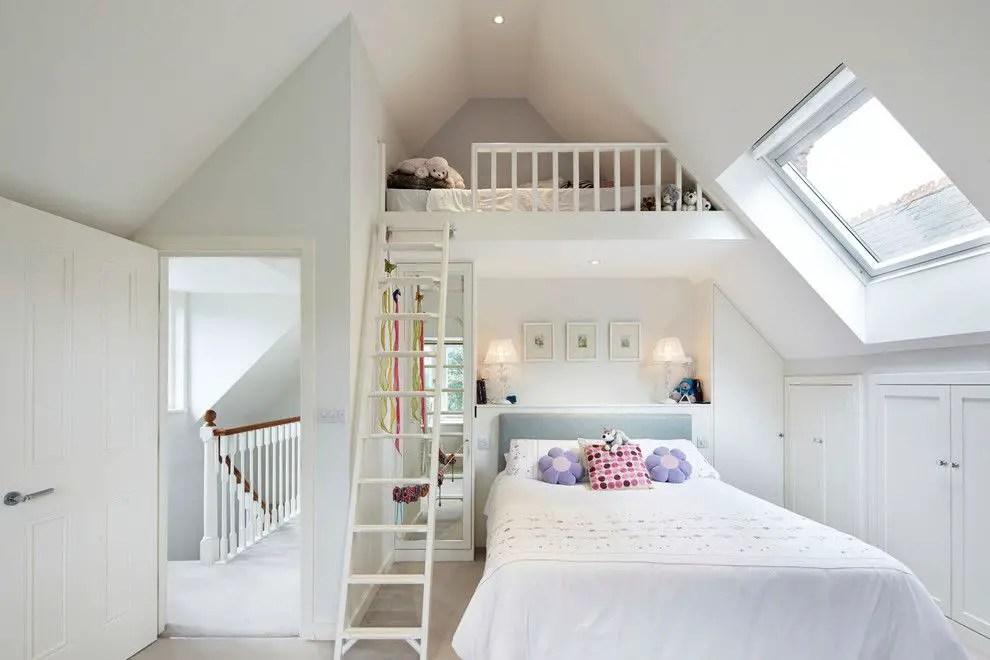 Atticc Result & 19 Ideas of Minimalist and Modern Attic Bedroom - decoratoo