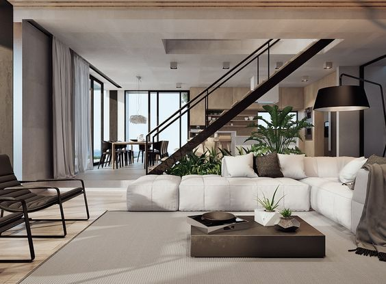11 style of neutral color scheme in interior design of the house
