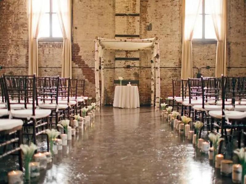 Aisles As Garden Beds Wedding Decoration Ideas