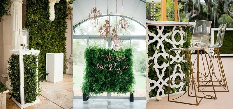 Living Bar Idea For Wedding Decoration