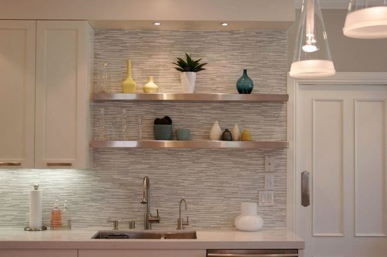 11 Awesome Beautiful and Creative Tile Ideas For Kitchen ...