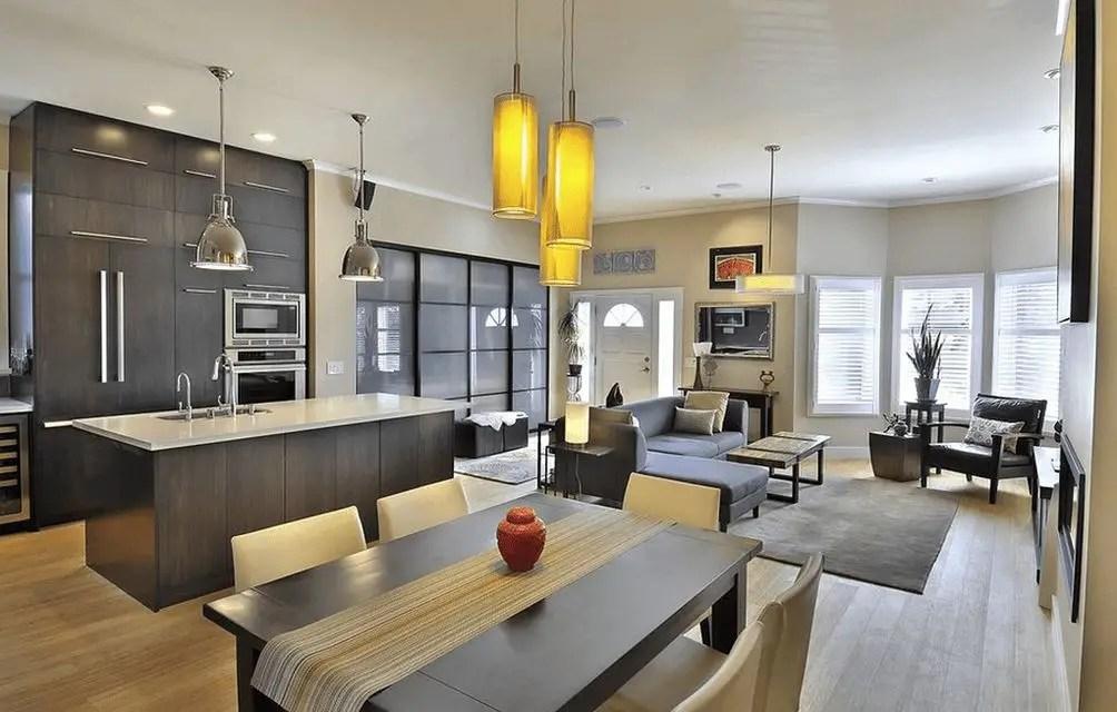 Open Space Concept Design For A Modern House