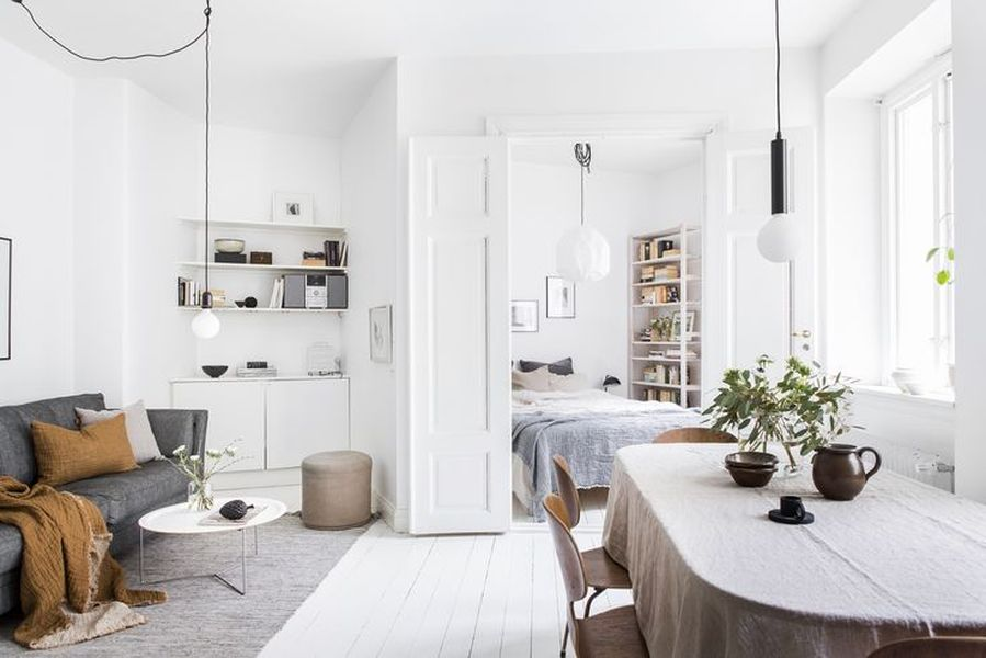 Awesome White Apartment