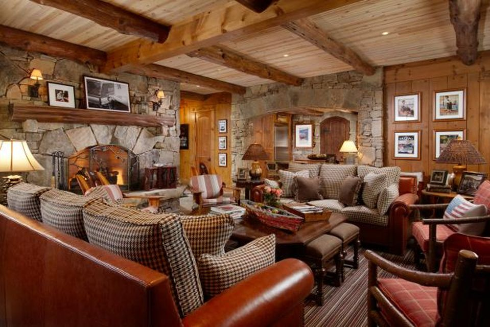 Cozy Rustic Cabin Interior Design (7) Result