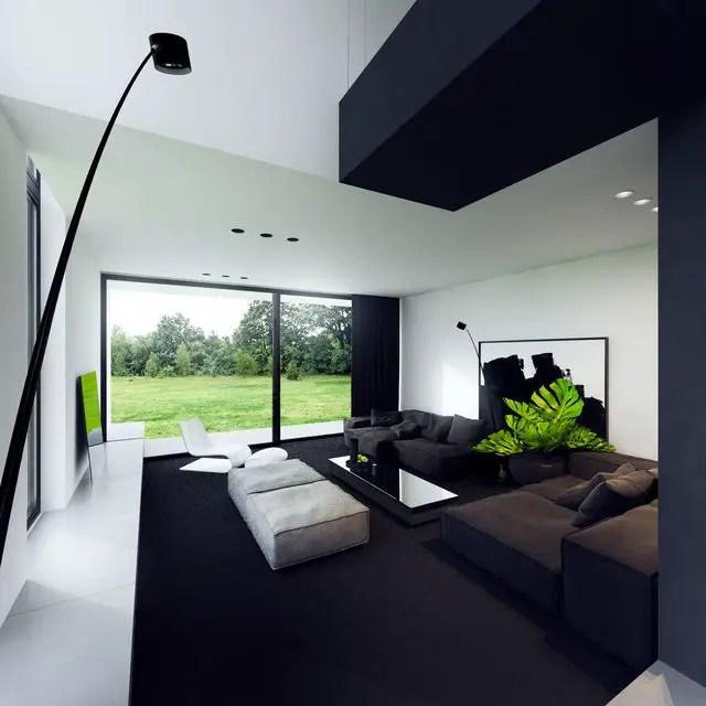 Minimalist Living Room (18) Result