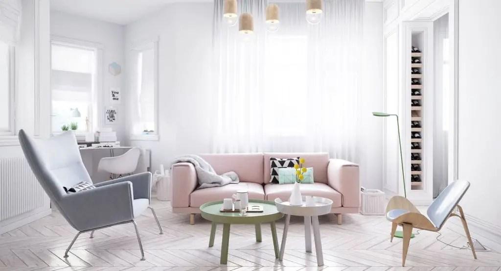 Minimalist Living Room (19) Result