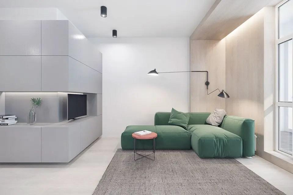 Minimalist Living Room (21) Result