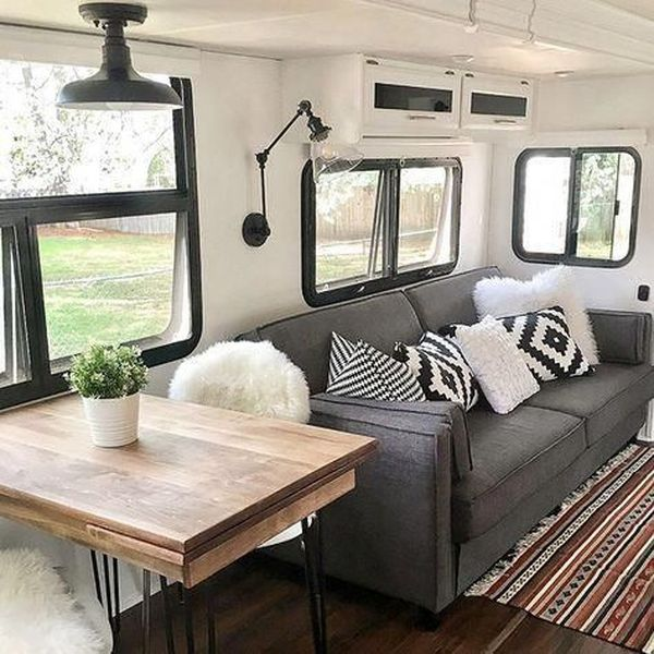 Neutral Looking Camper