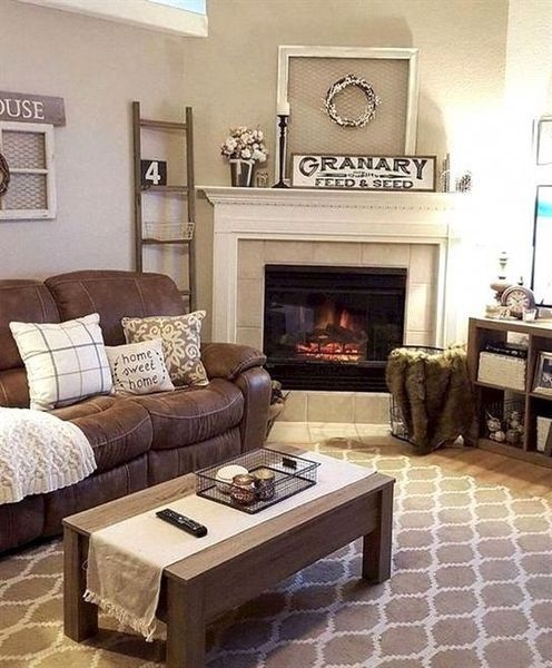Amazing Farmhouse Living Room Decor