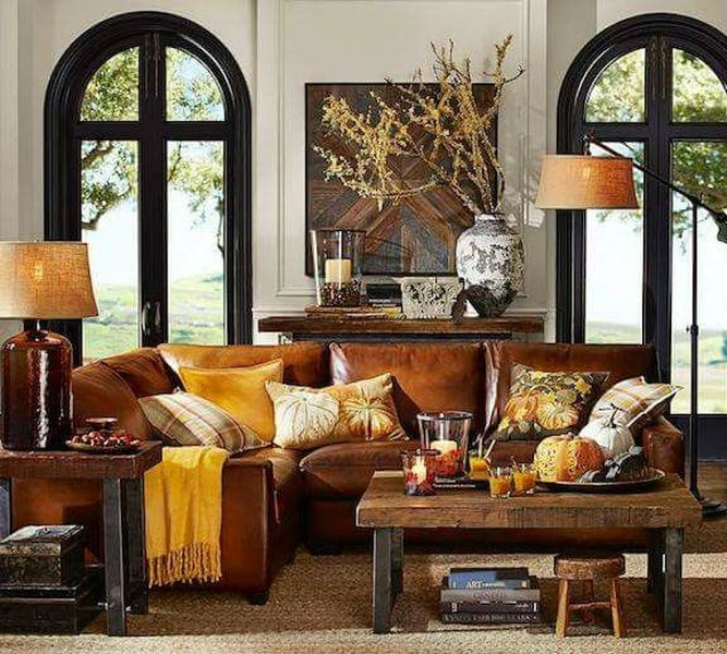 Luxe Fall Living Room