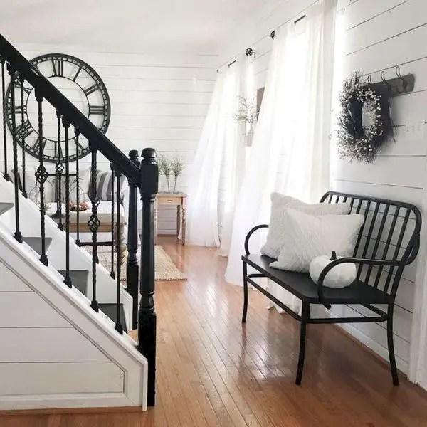 80 Awesome Modern Farmhouse Staircase Decor Ideas: 3 Modern Farmhouse Staircase Decor