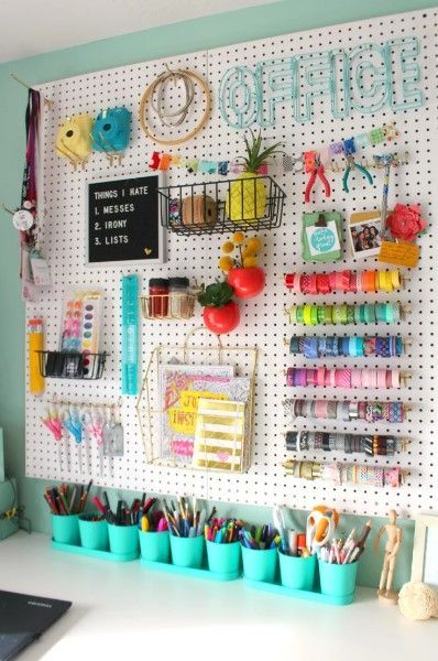 Craft Room Ideas 36