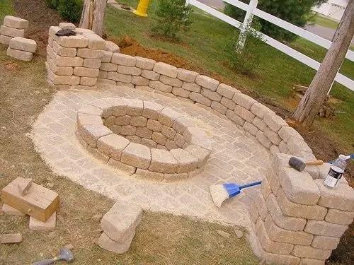 DIY Fire Pit 20