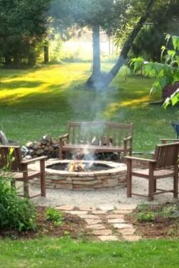 DIY Fire Pit 23
