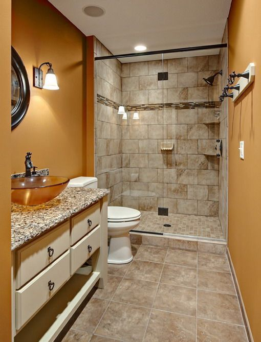 Small Master Bathroom 10