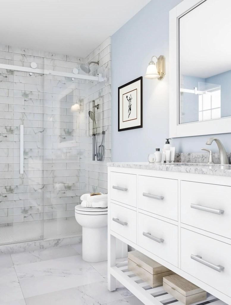 Small Master Bathroom 29