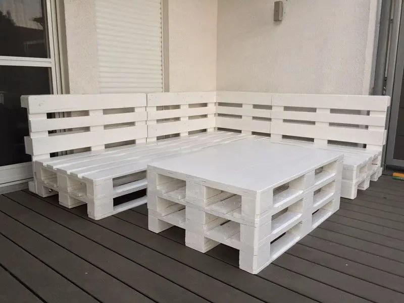Wooden Pallets Sofa 7