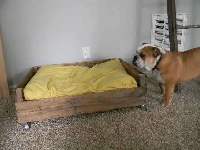 Pallet Dog Beds 12