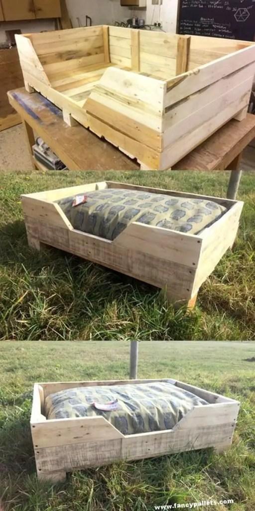 Pallet Dog Beds 28