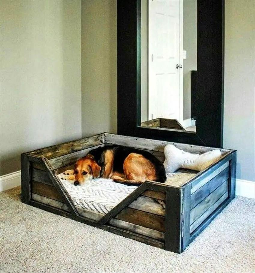 Pallet Dog Beds 32