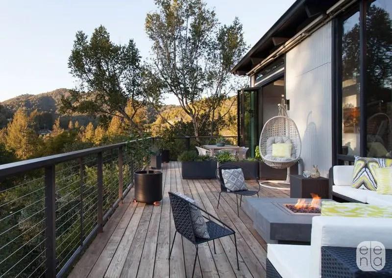 Elena Calabrese Mill Valley Hillside Outdoor Deck (1)