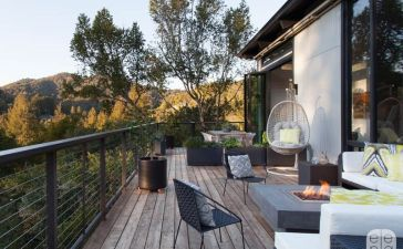 Elena Calabrese Mill Valley Hillside Outdoor Deck (1)