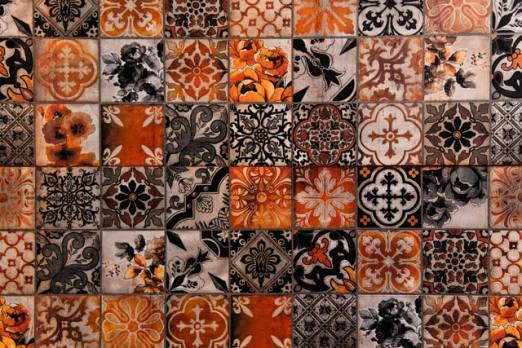Spanish cement tile