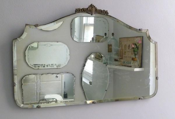 Vintage Bathroom Wall Mirror