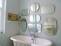 How to hang a display of vintage mirrors - Decorator's ...