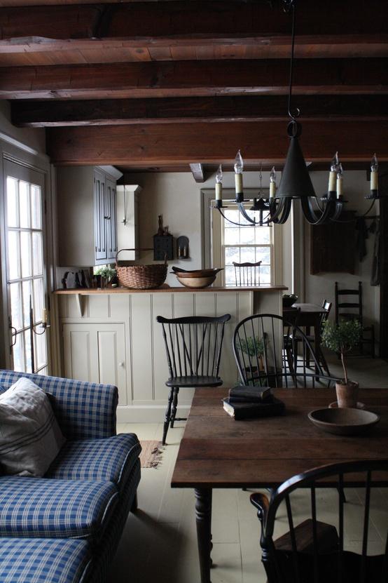 House Tour Amazingly Austere American Farmhouse