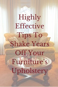 Shake Some Years Off Your Furniture's Upholstery