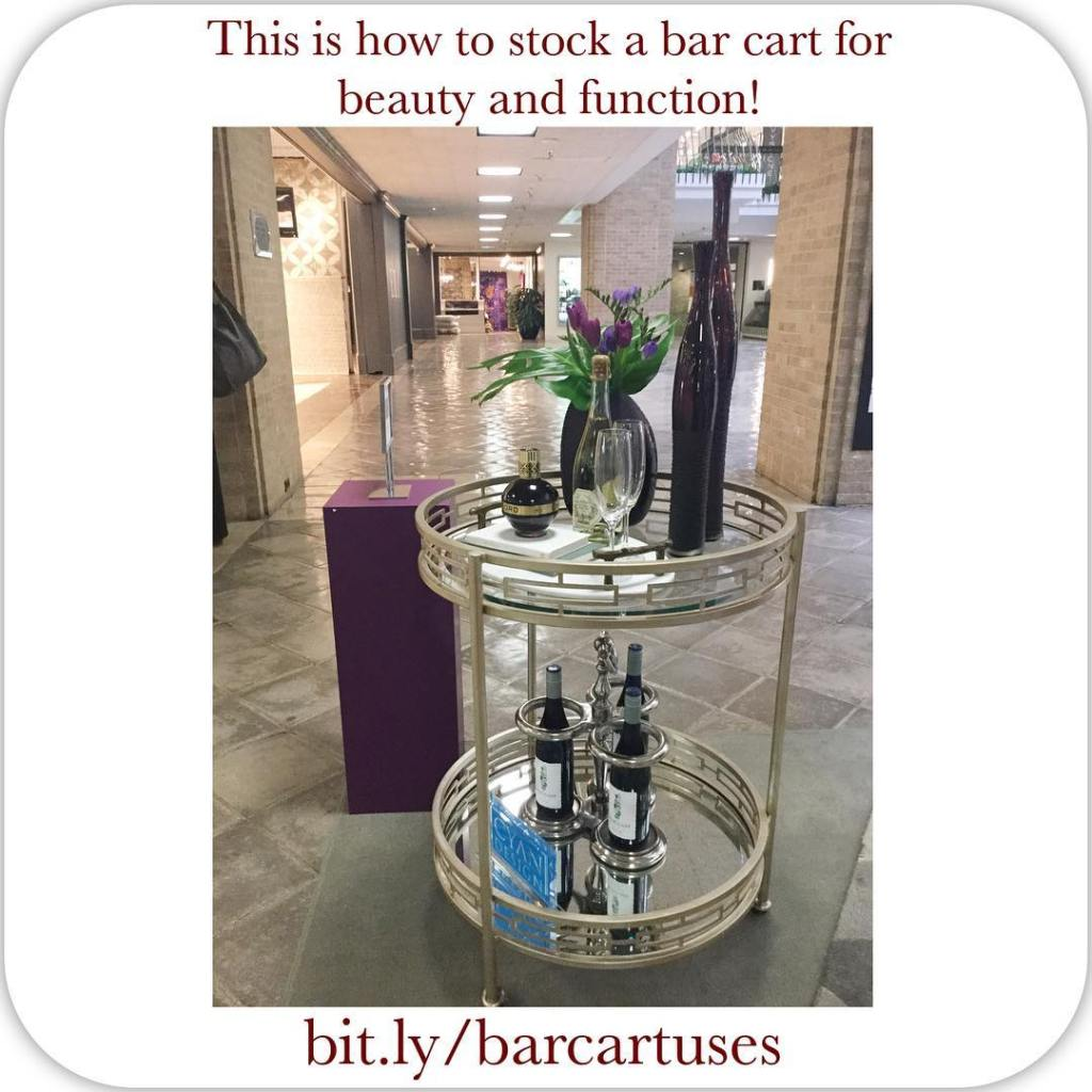 This bar cart by cyandesignhome on display dallasmarket is simplyhellip