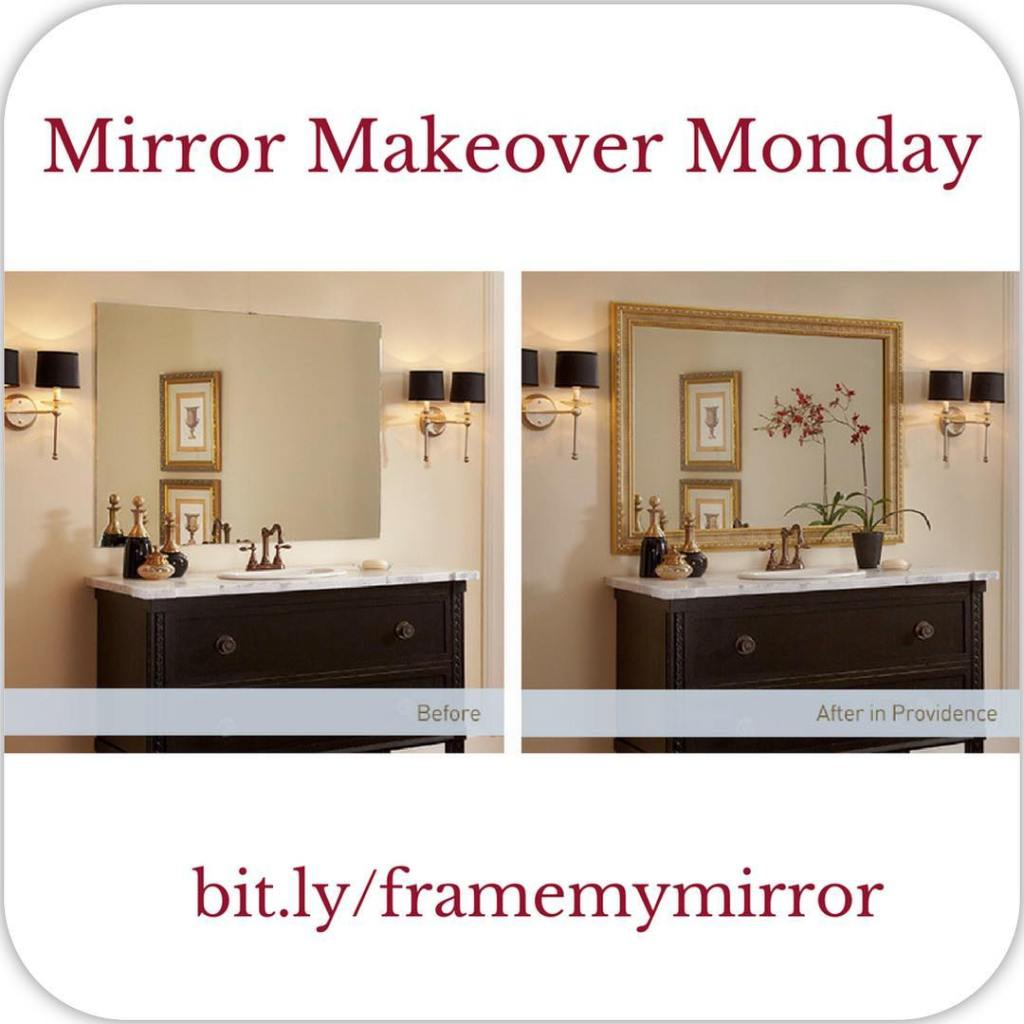 Allow us to transform your plain bare bathroom mirrors withhellip