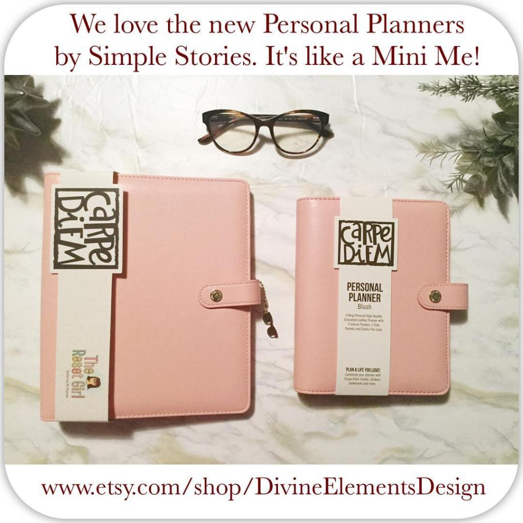 The personal sized planners are are a perfect mini version!hellip