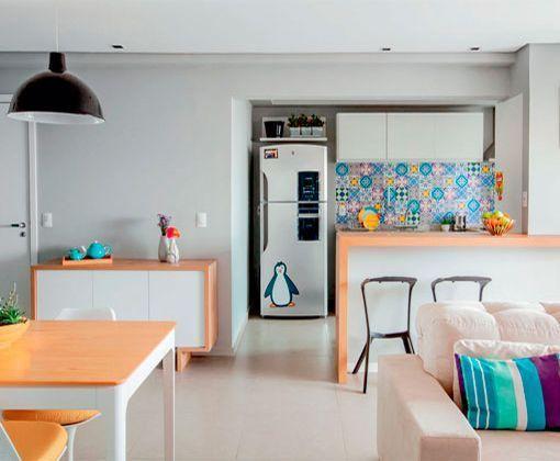 Apartamento de 90 metros con una decoracin moderna y prctica