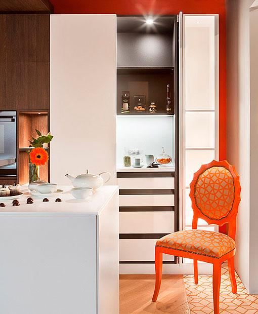 Cocina moderna y funcional decorada segn el Feng Shui