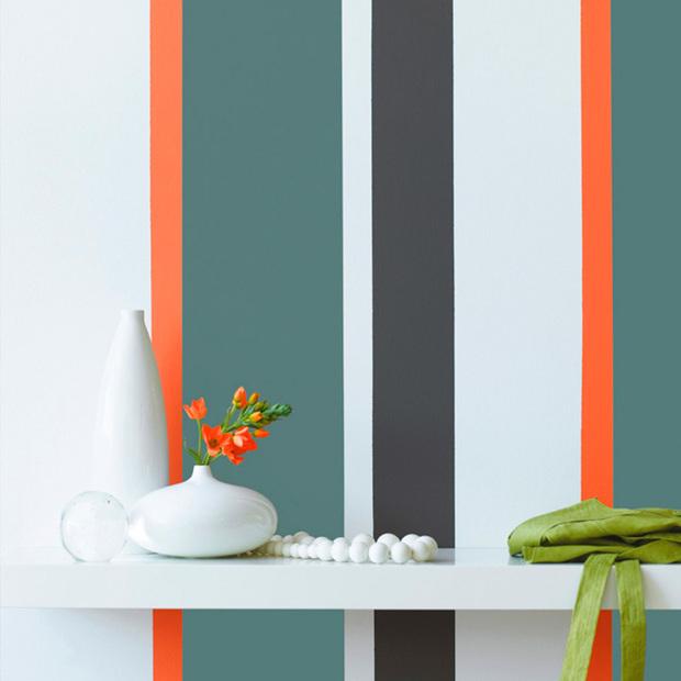 7 ideas para decorar la pared con pintura
