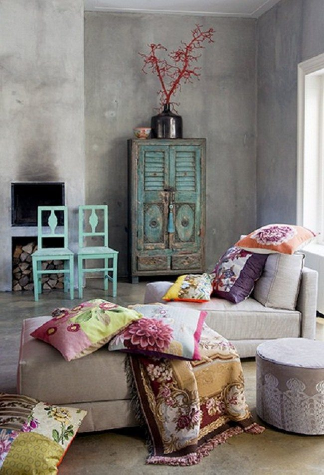 Amazing bohemian interior design  Decor Around The World