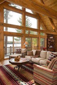 Log Home Decorating - [audidatlevante.com]
