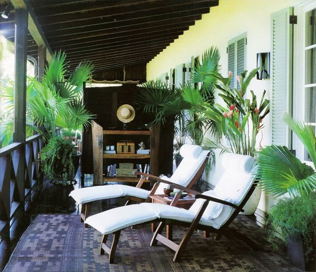 kitchen mats lighting in caribbean interior design: a breath of tropical air ...
