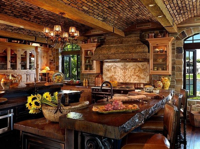 Rustic Interiors Bring The Atmosphere Of The Village To