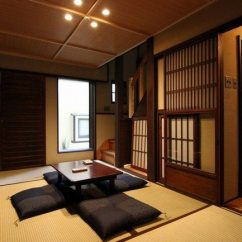 Asian Themed Living Room Wooden False Ceiling Designs For Japanese Floor Cushions - Example Of Asisn Ideas Decor ...