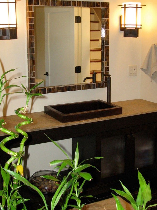 Wonderful Tips For Your Bamboo Themed Bathroom  Decor