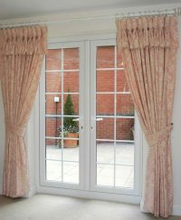 Double Door Curtain Ideas