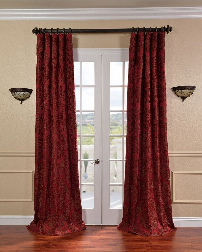 black and off white living room ideas computer desk best of the french door curtains - decor around ...