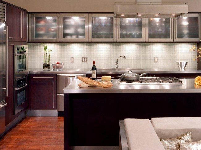 Ideas On Installing The Best Frosted Glass Cabinets In Your Kitchen Decor Around The World