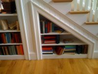 A Space Under Stair Shelves - Decor Around The World
