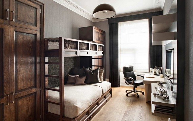 A Bedroom With Adult Bunk Bed Decor Around The World