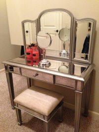 mirrored makeup storage  Roselawnlutheran