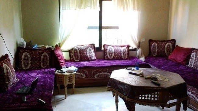 moroccan style living room accessories couches facing each other décor - decor around the world